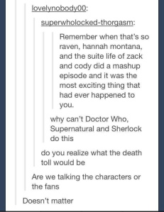 Superwholock death toll
