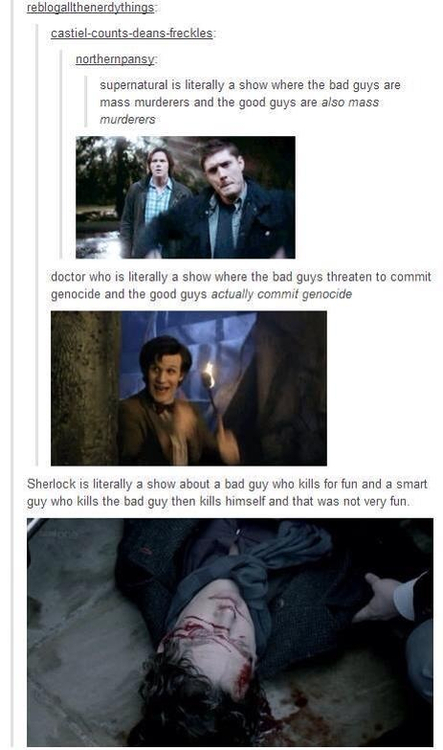 Superwholock murderers