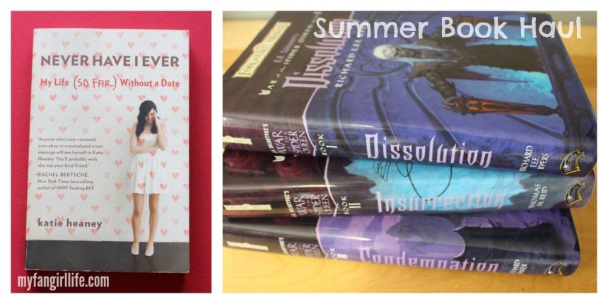Summer Book Haul - Lent