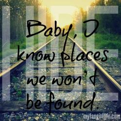 Taylor Swift 1989 Lyrics - I Know Places 1