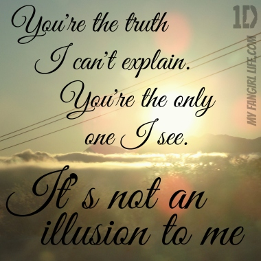 One Direction Four Lyrics - Illusions 2