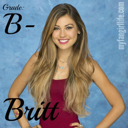 Bachelor Chris Contestant Britt