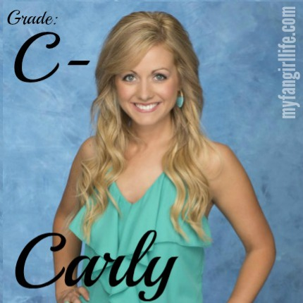 Bachelor Chris Contestant Carly