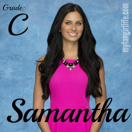 Bachelor Chris Contestant Samantha