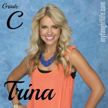 Bachelor Chris Contestant Trina
