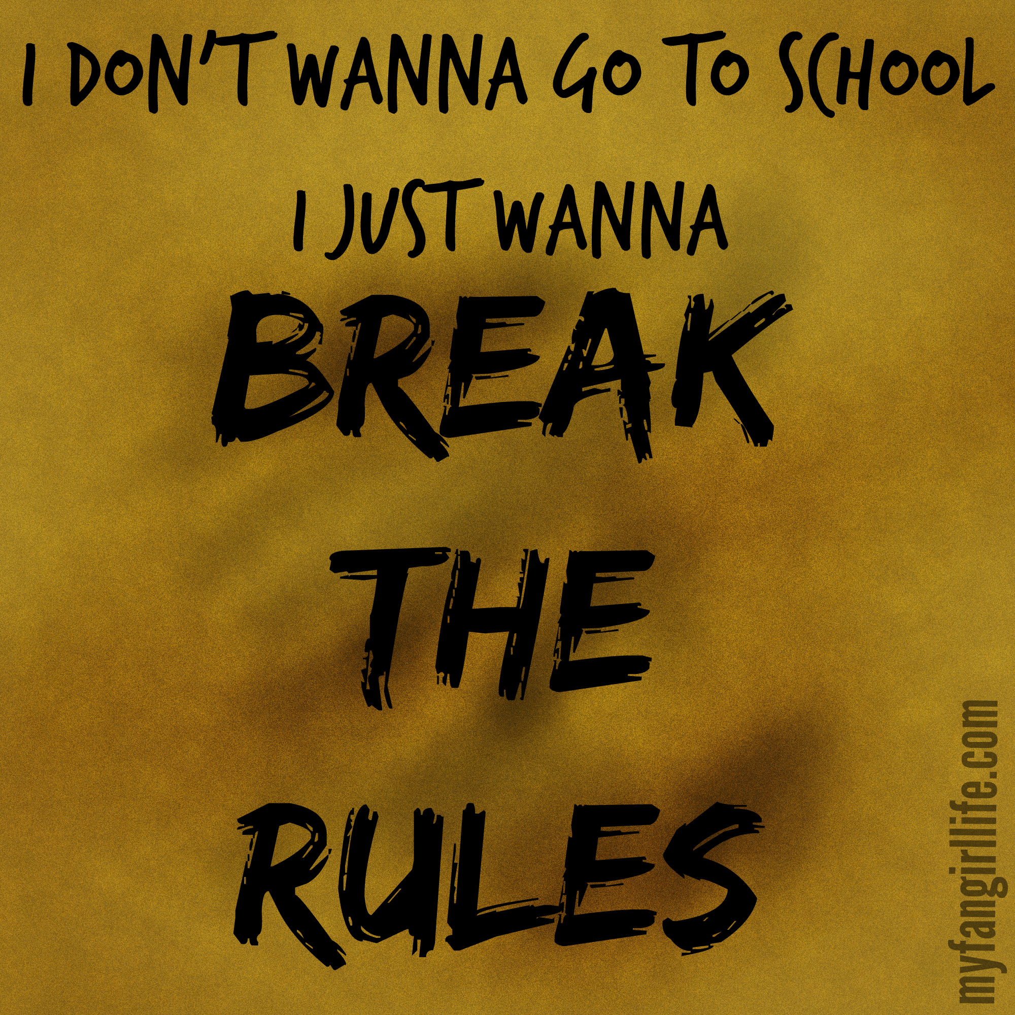 Charli Xcx Break The Rules Lyrics