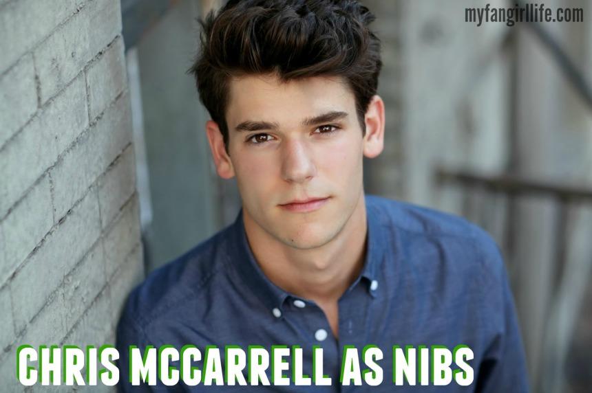 chris mccarrell as nibs