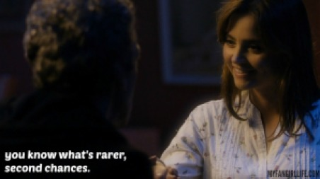 Clara+Twelfth Doctor+Doctor Who+Last Christmas+Second Chances