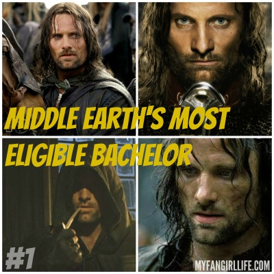 Lord of the Rings Hobbit Most Eligible Bachelors 1 Aragorn