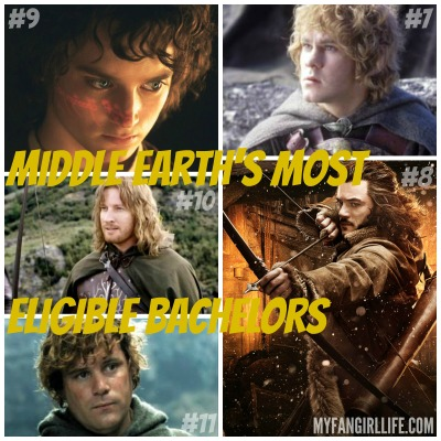 Lord of the Rings Hobbit Most Eligible Bachelors 11-7