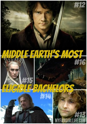 Lord of the Rings Hobbit Most Eligible Bachelors 16-12
