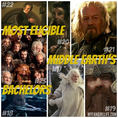 Lord of the Rings Hobbit Most Eligible Bachelors 23-17