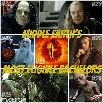 Lord of the Rings Hobbit Most Eligible Bachelors 30-24