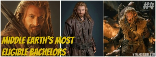 Lord of the Rings Hobbit Most Eligible Bachelors 4 Fili