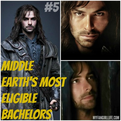 Lord of the Rings Hobbit Most Eligible Bachelors 5 Kili