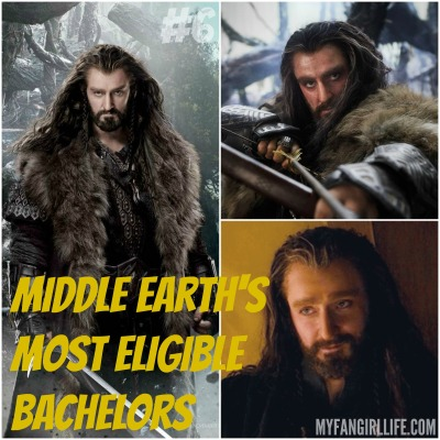 Lord of the Rings Hobbit Most Eligible Bachelors 6 Thorin