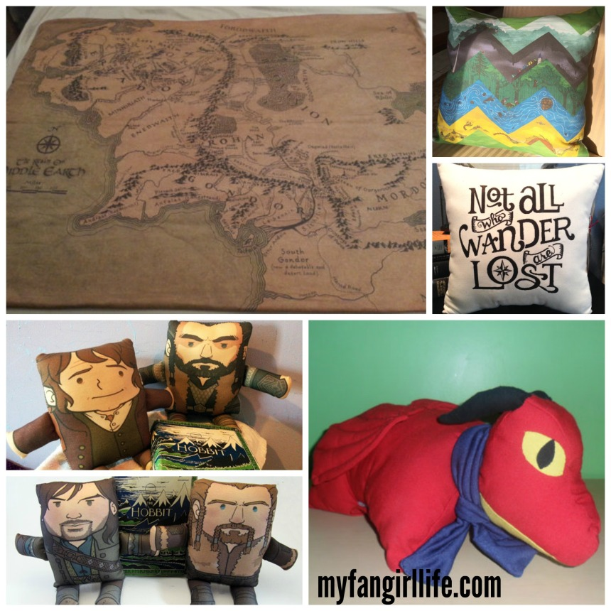 Middle Earth Lord of the Rings Hobbit Pillows Blankets