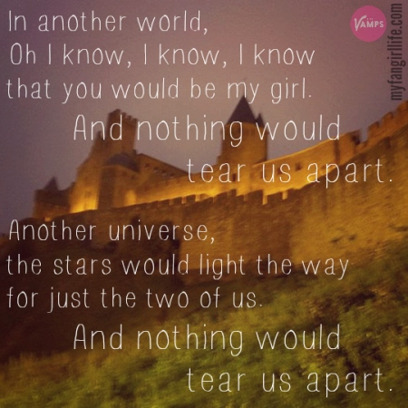 Vamps Meet the Vamps Lyrics - Another World