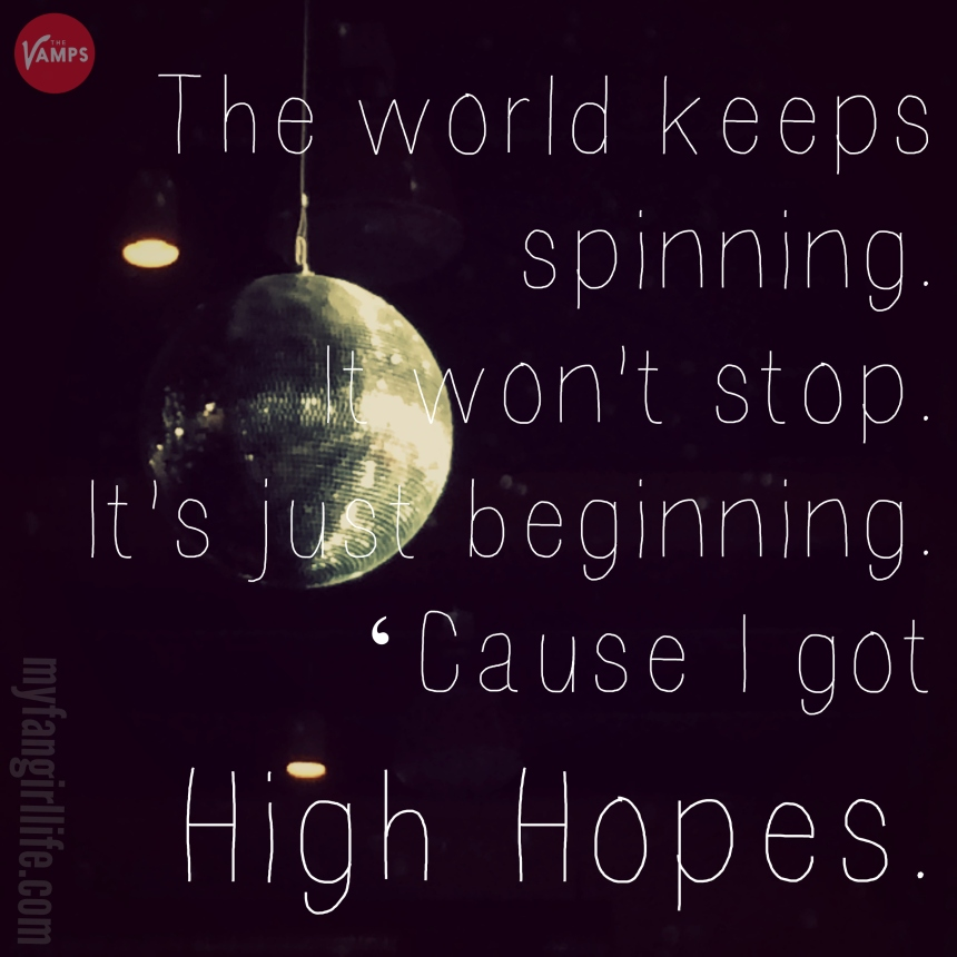 Vamps Meet the Vamps Lyrics - High Hopes