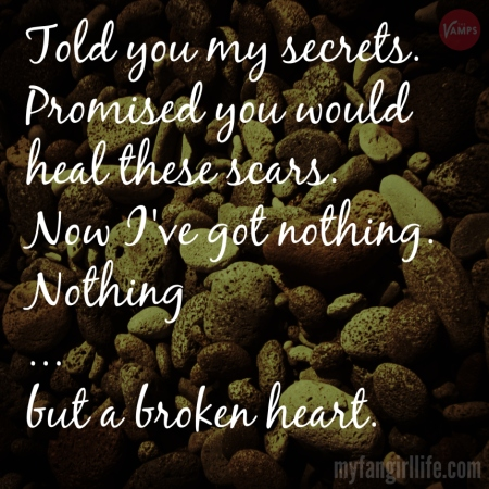 Vamps Meet the Vamps Lyrics - She Was the One