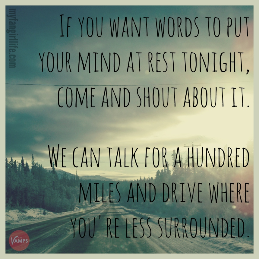 Vamps Meet the Vamps Lyrics - Shout About It