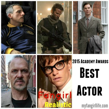 2015 Oscar Nominations Best Actor
