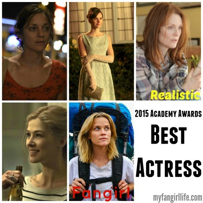 2015 Oscar Nominations Best Actress