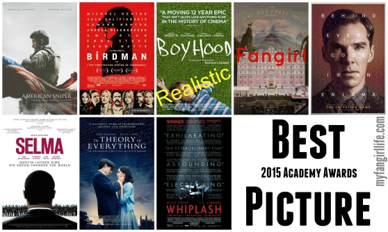 2015 Oscar Nominations Best Picture