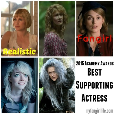 2015 Oscar Nominations Best Supporting Actress