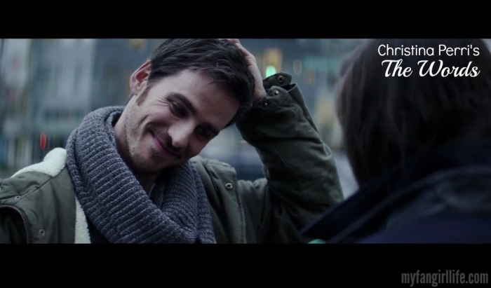 Christrina Perri The Words Colin ODonoghue BEST