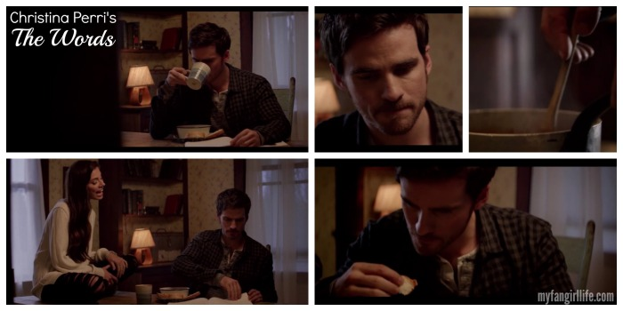 Christrina Perri The Words Colin ODonoghue Eating