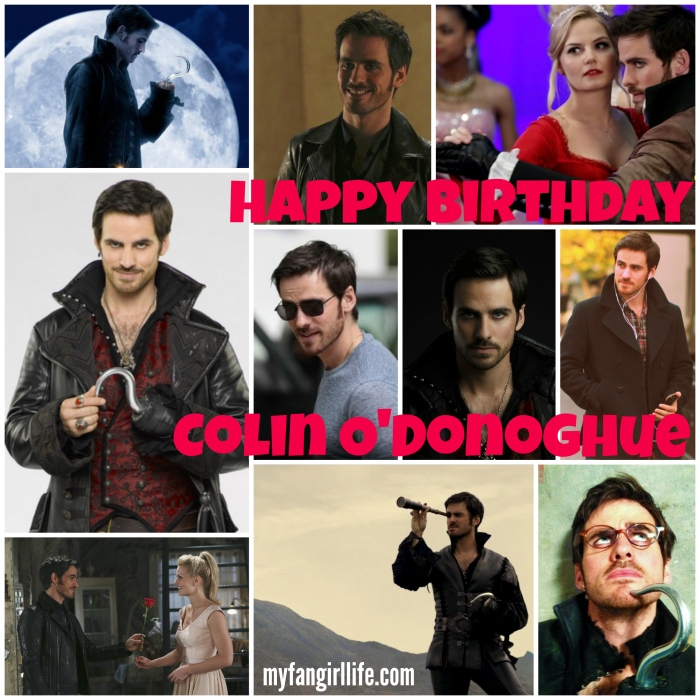 Colin ODonoghue Birthday OUAT Hook