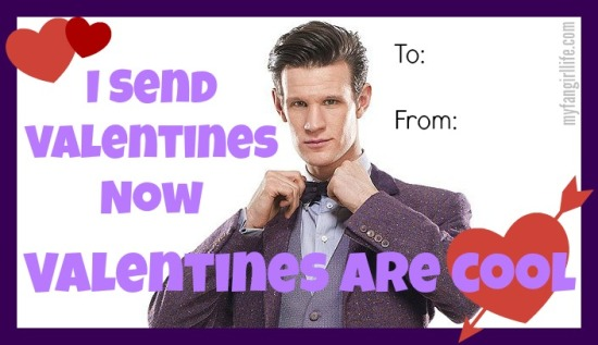 Doctor Who Eleven Bow Tie Valentines