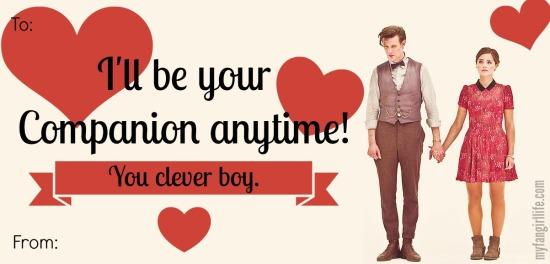 Doctor Who Eleven Clara Valentines