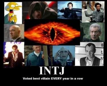 INTJs - Always the Villian MBTI