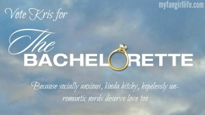 Kris for Bachelor-Bachelorette Logo