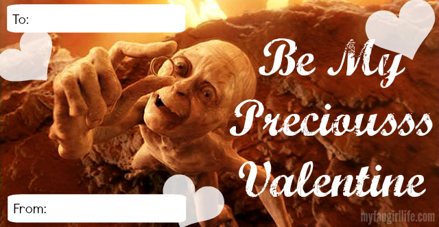 My Precious Lord Rings Valentine