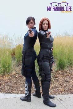 Marvel Agent Hill Black Widow Cosplay