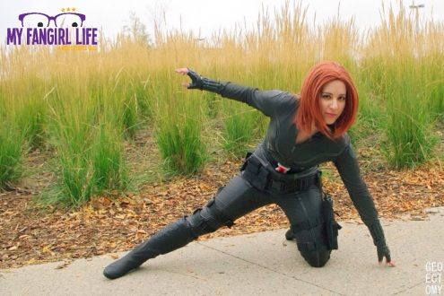 Marvel Black Widow Cosplay 1