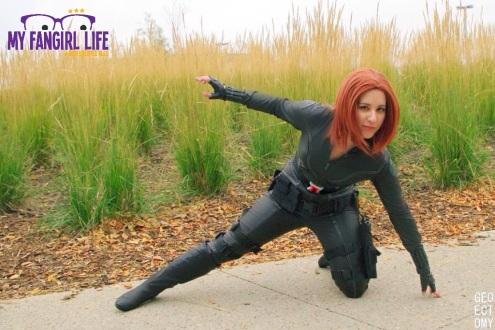 Marvel Black Widow Cosplay 1