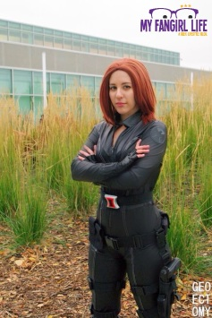 Marvel Black Widow Cosplay 2