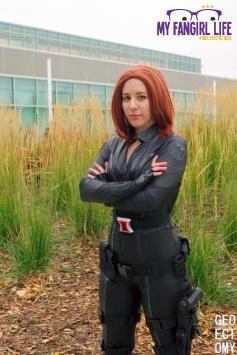 Marvel Black Widow Cosplay 2