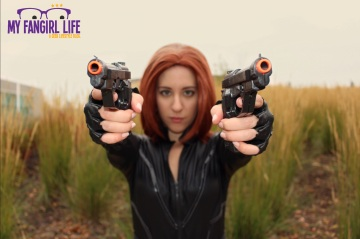 Marvel Black Widow Cosplay 3