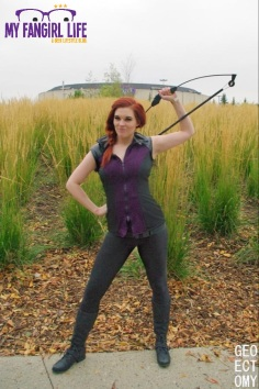 Marvel Hawkeye Cosplay 3