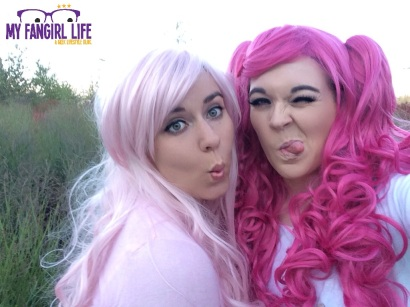 My Little Pony Cosplay - Pinkie Pie + Fluttershy 2