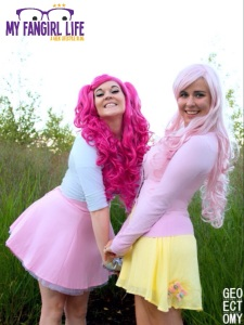 My Little Pony Cosplay - Pinkie Pie + Fluttershy 3