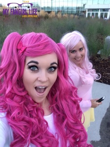 My Little Pony Cosplay - Pinkie Pie + Fluttershy 4
