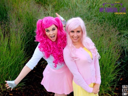 My Little Pony Cosplay - Pinkie Pie + Fluttershy 5