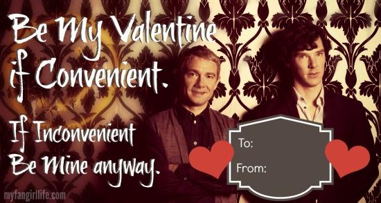 Sherlock BBC Watson Valentine