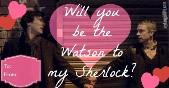 Sherlock Watson Holding Hands Valentine
